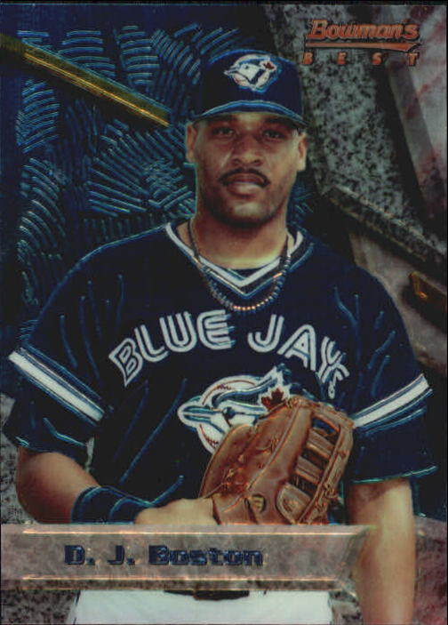 1994 Bowman's Best #B50 D.J. Boston RC