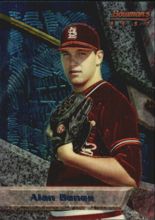 1994 Bowman's Best #B61 Alan Benes RC
