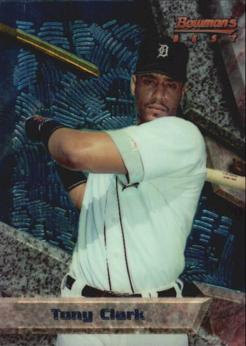 1994 Bowman's Best #B62 Tony Clark RC