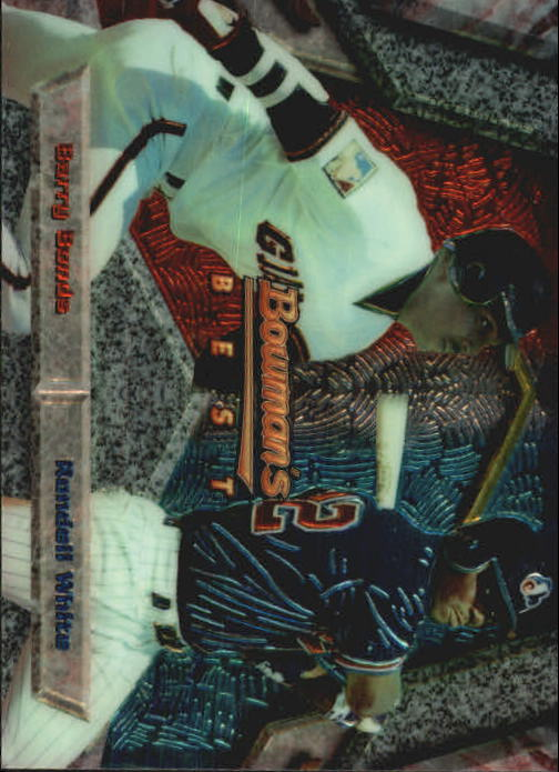 1994 Bowman's Best #X97 B.Bonds/R.White