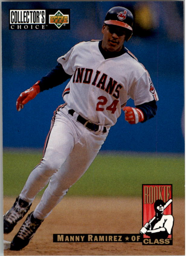 1994 Collector's Choice #16 Manny Ramirez