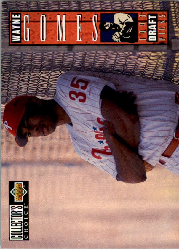 1994 Collector's Choice #22 Wayne Gomes RC
