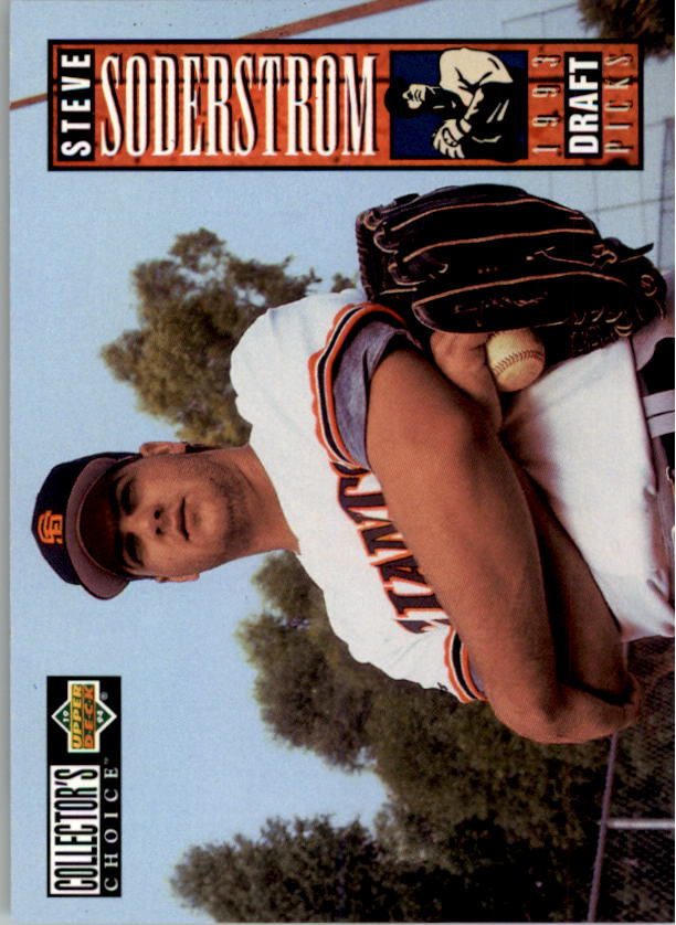 1994 Collector's Choice #24 Steve Soderstrom RC