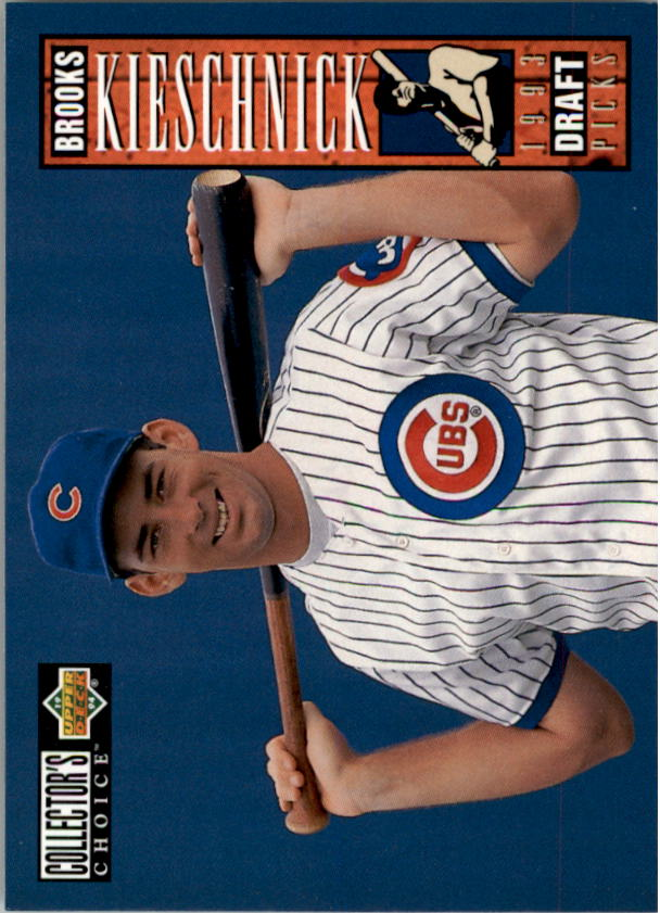 1994 Collector's Choice #28 Brooks Kieschnick RC