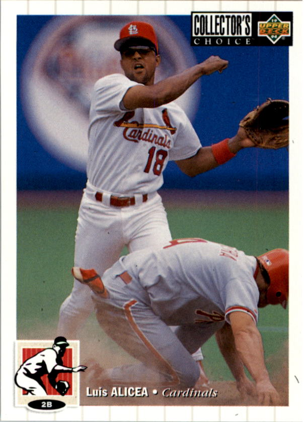 1994 Collector's Choice #32 Luis Alicea