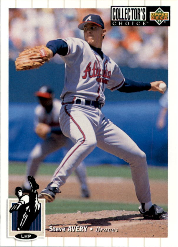 1994 Collector's Choice #44 Steve Avery front image