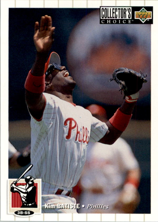 1994 Collector's Choice #48 Kim Batiste