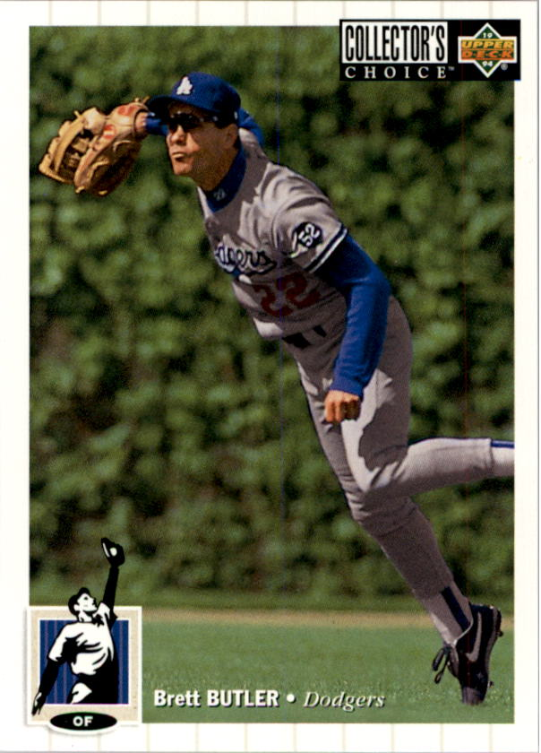 1994 Collector's Choice #70 Brett Butler