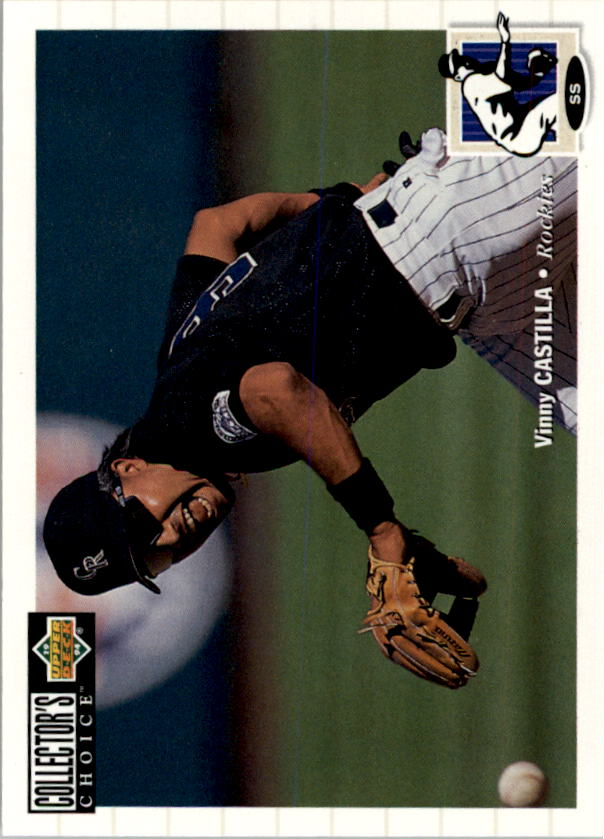 1994 Collector's Choice #74 Vinny Castilla