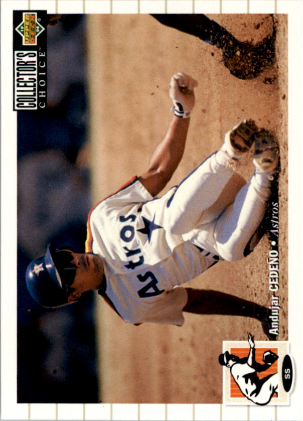 1994 Collector's Choice #75 Andujar Cedeno front image