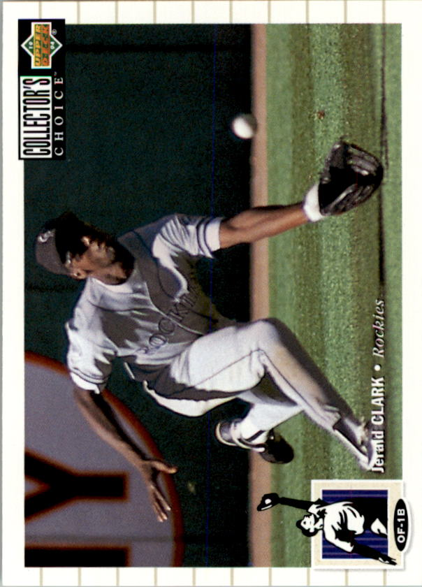 1994 Collector's Choice #79 Jerald Clark