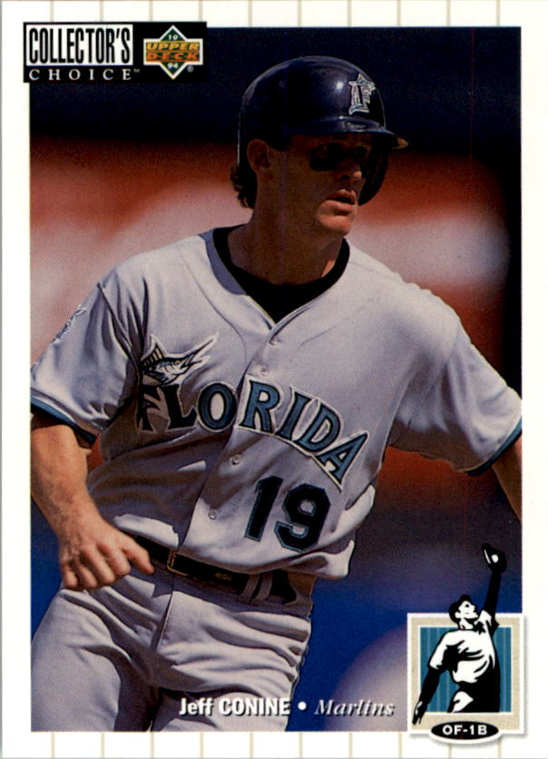 1994 Collector's Choice #82 Jeff Conine