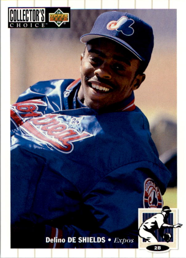 1994 Collector's Choice #92 Delino DeShields