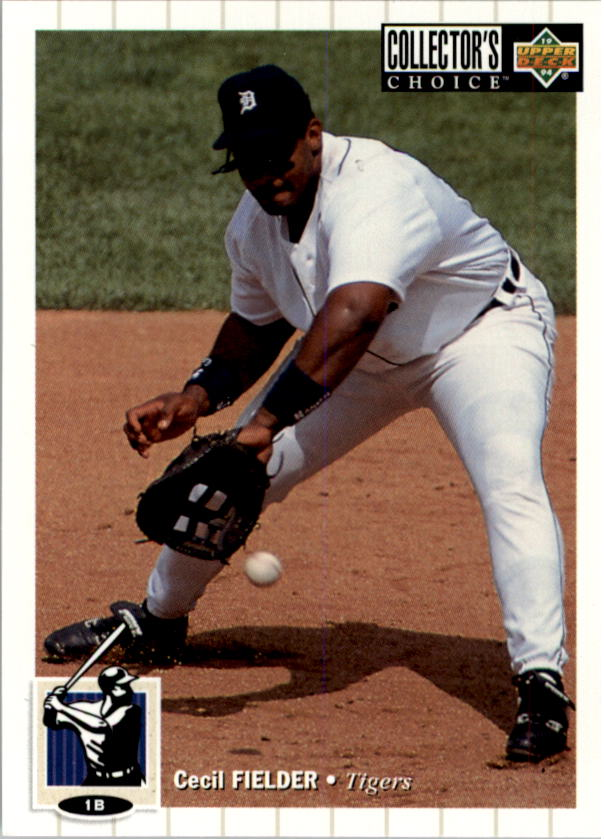 1994 Collector's Choice #100 Cecil Fielder