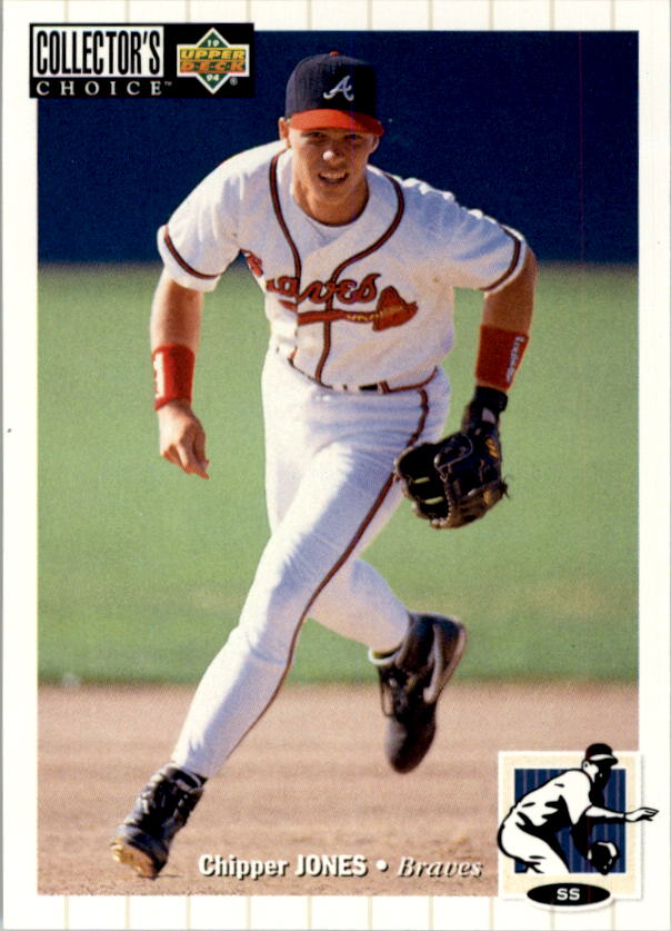 1994 Collector's Choice #152 Chipper Jones