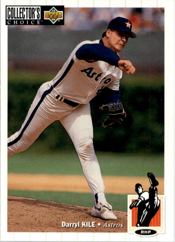 1994 Collector's Choice #162 Darryl Kile