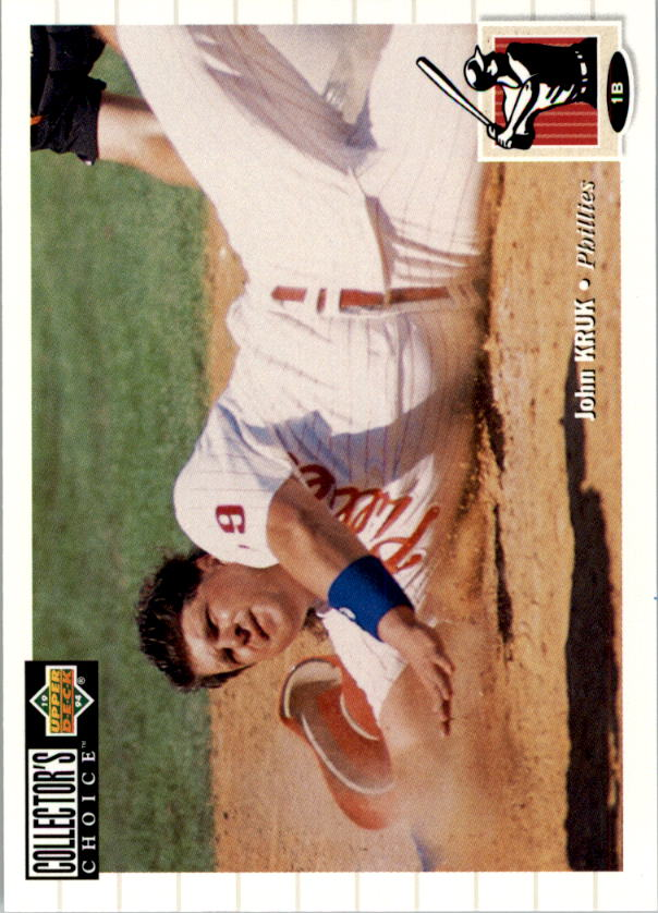 1994 Collector's Choice #168 John Kruk