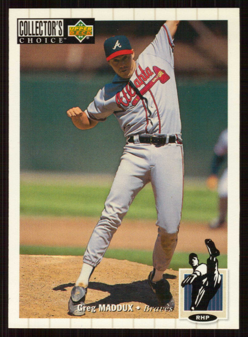 1994 Collector's Choice #183 Greg Maddux