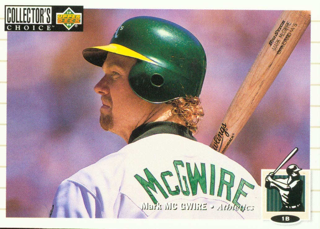 1994 Collector's Choice #525 Mark McGwire