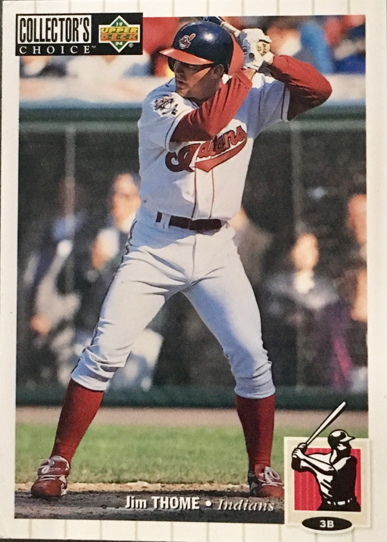 1994 Collector's Choice #624 Jim Thome