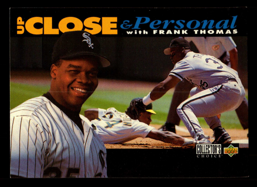 1994 Collector's Choice #640 Frank Thomas UP