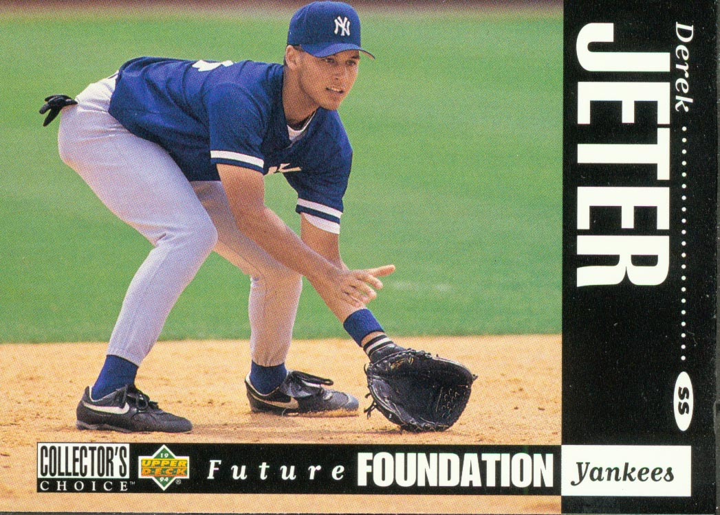 1994 Collector's Choice #644 Derek Jeter