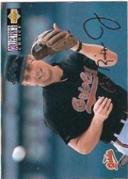 1994 Collector's Choice Gold Signature #343 Cal Ripken TC