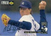 1994 Collector's Choice Silver Signature #11 Mark Hutton