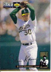 1994 Collector's Choice Silver Signature #13 Steve Karsay