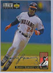 1994 Collector's Choice Silver Signature #16 Manny Ramirez