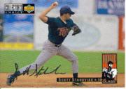 1994 Collector's Choice Silver Signature #18 Scott Stahoviak