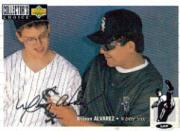 1994 Collector's Choice Silver Signature #36 Wilson Alvarez