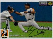 1994 Collector's Choice Silver Signature #38 Eric Anthony