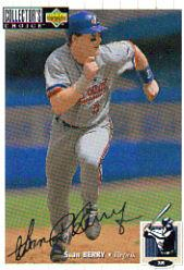 1994 Collector's Choice Silver Signature #51 Sean Berry
