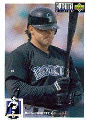 1994 Collector's Choice Silver Signature #52 Dante Bichette