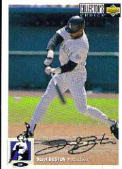 1994 Collector's Choice Silver Signature #62 Daryl Boston
