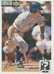 1994 Collector's Choice Silver Signature #71 Rob Butler