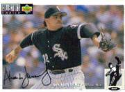 1994 Collector's Choice Silver Signature #99 Alex Fernandez