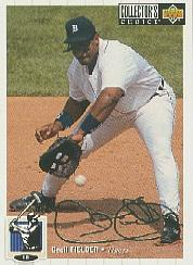 1994 Collector's Choice Silver Signature #100 Cecil Fielder