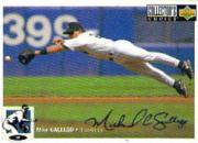 1994 Collector's Choice Silver Signature #104 Mike Gallego