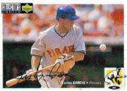 1994 Collector's Choice Silver Signature #105 Carlos Garcia