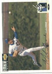 1994 Collector's Choice Silver Signature #114 Mark Grace