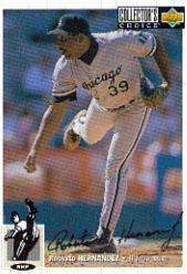 1994 Collector's Choice Silver Signature #134 Roberto Hernandez