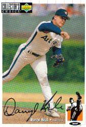 1994 Collector's Choice Silver Signature #162 Darryl Kile