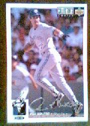 1994 Collector's Choice Silver Signature #208 Paul Molitor