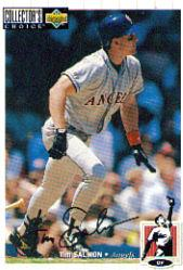 1994 Collector's Choice Silver Signature #251 Tim Salmon