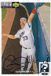 1994 Collector's Choice Silver Signature #286 Larry Walker
