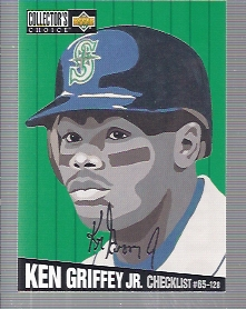 1994 Collector's Choice Silver Signature #317 Ken Griffey Jr. CL