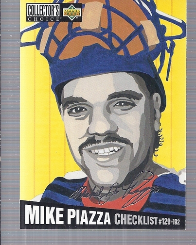 1994 Collector's Choice Silver Signature #318 Mike Piazza CL