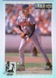 1994 Collector's Choice Silver Signature #430 Tom Glavine